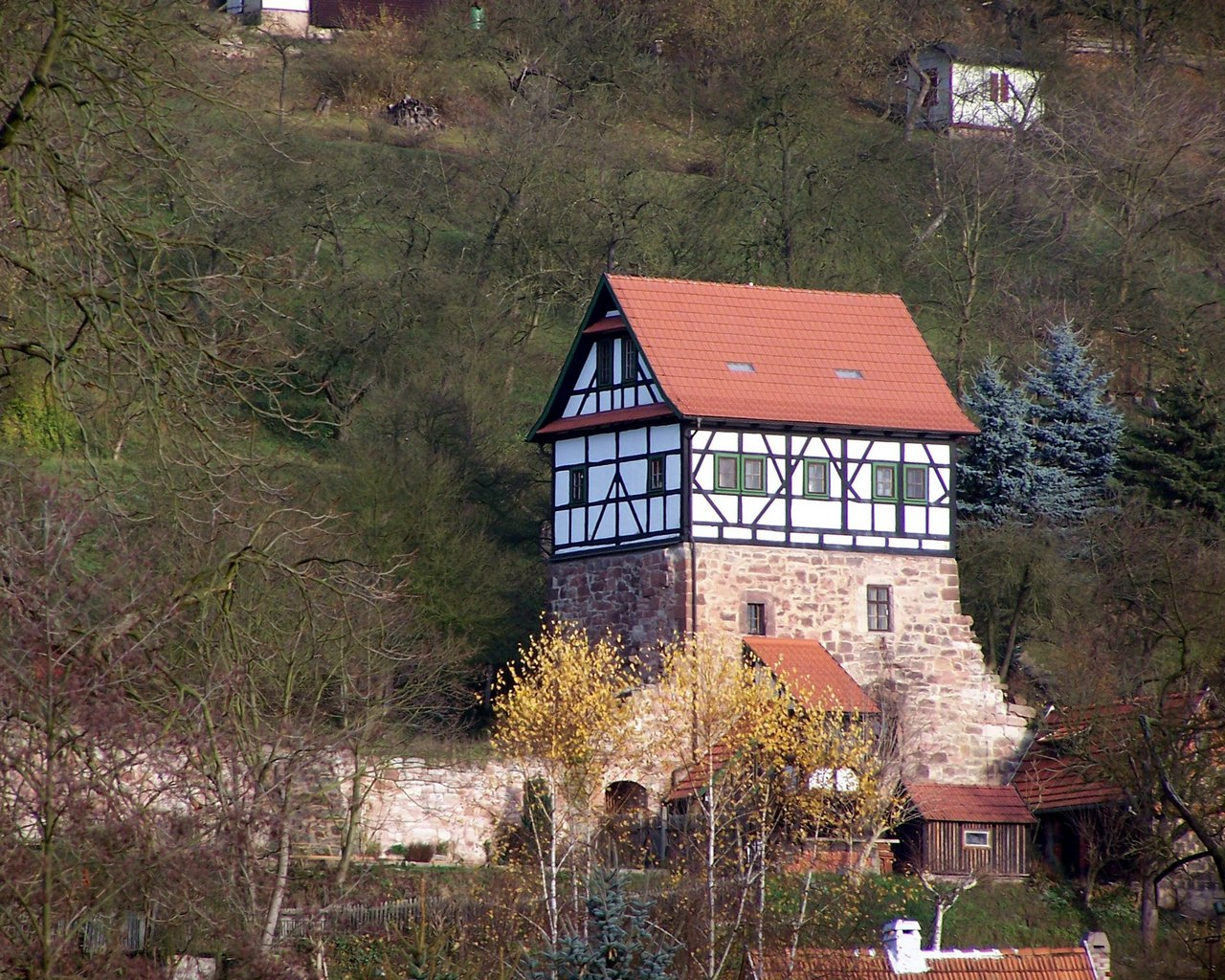 Pfaffenburg In Wasungen